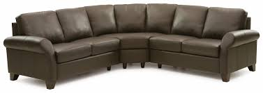 palliser ottawa transitional 3 piece sectional sofa with sock arms