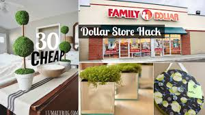 Buy Now Pay Later Home Decor by 30 Decor Ideas From Dollar Store Youtube