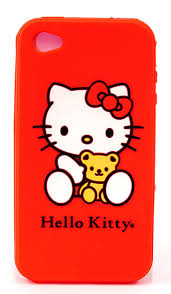 amazon kitty silicone iphone 4 4s case red 22509 hk