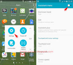assistant app for android samsung galaxy s5 how to disable assistant menu feature in