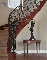 rg fine ironworks gallery interior railings