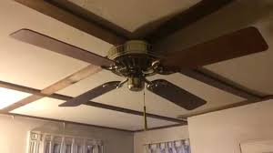 Low Ceiling Fans With Lights by Hunter Low Profile Ceiling Fan Youtube
