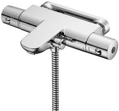 ideal standard alto ecotherm wm thermostatic bath shower mixer tap