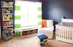 Navy And Green Nursery Decor William S Whimsical Blue Orange And Green Nursery Green Fabric