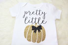 original pretty little pumpkin gold glitter halloween shirt