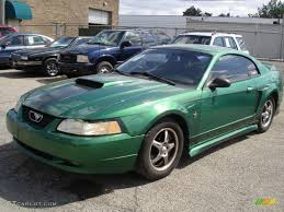 2000 ford mustang colors 2000 electric green metallic ford mustang v6 coupe 35427666