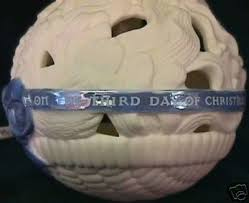 wedgwood 12 days of 3 hens ornament 45784676