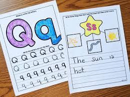 printable story writing paper alphabet crafts printables notebooks simply kinder alphabet notebooks with lower case alphabet crafts and printables