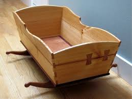 bedroom design old style wooden baby rocking bassinet crib
