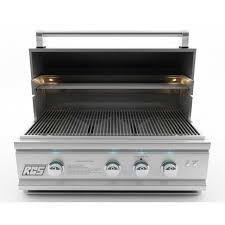 rcs cutlass pro 30 inch built in propane gas grill ron30a lp