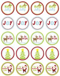 free christmas labels by ink tree press worldlabel blog
