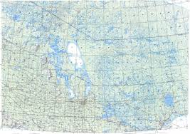 Winnipeg Map Download Topographic Map In Area Of Winnipeg Regina Thunder Bay