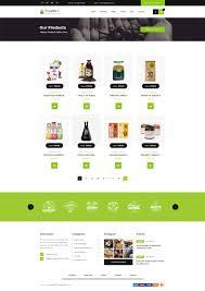 Bakery Price List Template Origanico Organic Online Store Psd Template By Winsfolio