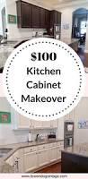 Diy Kitchen Cabinets Makeover Thrifty Diy Kitchen Makeover The Reveal Brown Dog Vintage