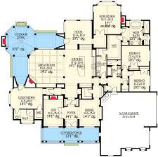 unique floor plans for homes stunning classical facade with unique floor plan 23225jd