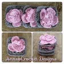 Free Pattern For Crochet Flower - 719 best free crochet flower patterns images on pinterest