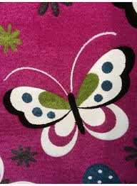 moquette rose fushia carrelage design tapis papillon moderne design pour carrelage