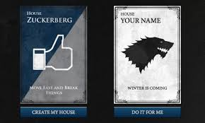 Design Your Own Home Game Make Your Own U201cgame Of Thrones U201d Style Family Crest Fast Company
