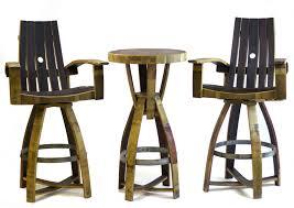 Wine Barrel Bar Table Whiskey Barrel Pub Table Hungarian Workshop