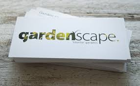 Landscape Business Cards Design Gardenscape Business Cards And Flyers Printed By Solopress