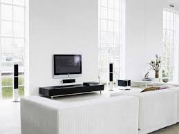 Home Cinema Living Room Ideas Interior Design Ideas White Room With A Black Home Cinema Idolza