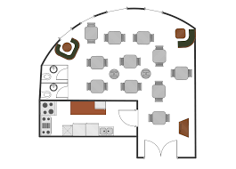 Easy Floor Plan Restaurant Floor Plans Samples How To Create Restaurant Floor