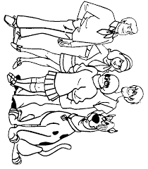 scooby doo coloring books coloring home