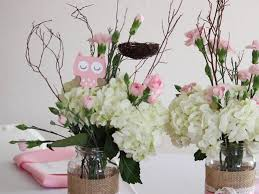 owl centerpieces way to owl themed baby shower decorations my decor ideas