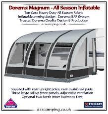390 Awning 2015 Dorema Magnum Air 390 All Season Inflatable Awning