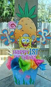 Spongebob Centerpiece Decorations by 36 Best Spongebob Party Images On Pinterest Birthday Party Ideas