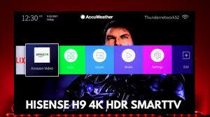 amazon hisense black friday hisense h9 smarttv 4k hdr at a good price youtube