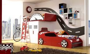 Race Car Bunk Bed Accessories Mesmerizing Room Decorating Ideas Boys Decor Kids