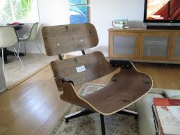 Single Seat Lounge Chairs Design Ideas Decor Reproduction Eames Chairs Eames Lounge Chair Replica