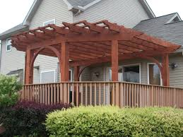 awesome deck pergola with simple ideas