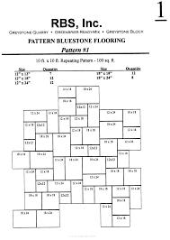 pa blue stone rectilinear design bluestone floor patterns 1 2
