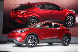 toyota brand new cars price another tiny suv no awd for 2018 toyota c hr subcompact crossover