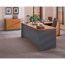 Commercial Desk Amazon Com Series C 72w X 30d Office Desk In Natural Cherry