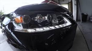 lexus rx 350 headlights lexus rx350 drl enable for jdm spec youtube