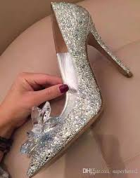 wedding shoes and accessories womens cinderella rhinestone stiletto heels party