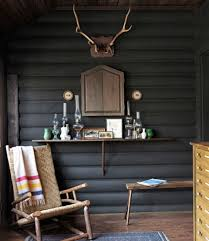 Home Interior Deer Picture by Cabin Decorating Ideas Log Cabin Interior Design
