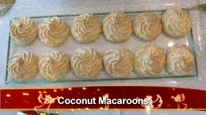 coconut macaroons 15 20 pieces youtube
