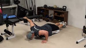 chest exercise one arm bench push ups