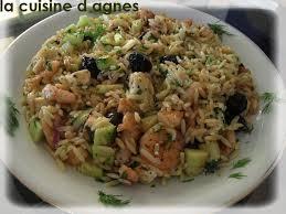 cuisine grecque recette salade de risoni aux crevettes grillées à la grecque la cuisine d