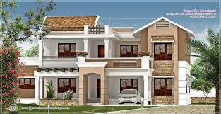 2446 sq ft villa exterior kerala home design and floor plans