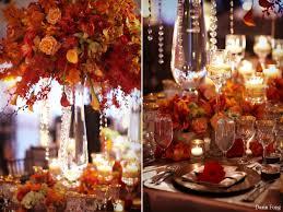 deco table marin deco table theme automne deco table orange marron g