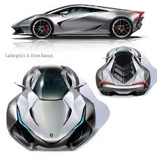 future lamborghini bikes multiple views of the lamborghini la vision concept by daisuke