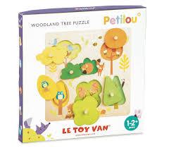 le petilou woodland tree puzzle