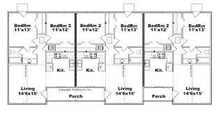 multi family home plans triplex house design basics beauteous