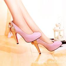 Light Pink Pumps Online Shop Women Sweet 11 Cm Rubber High Heel Pumps Pink Light