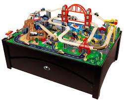 kidkraft metropolis train set and table toys